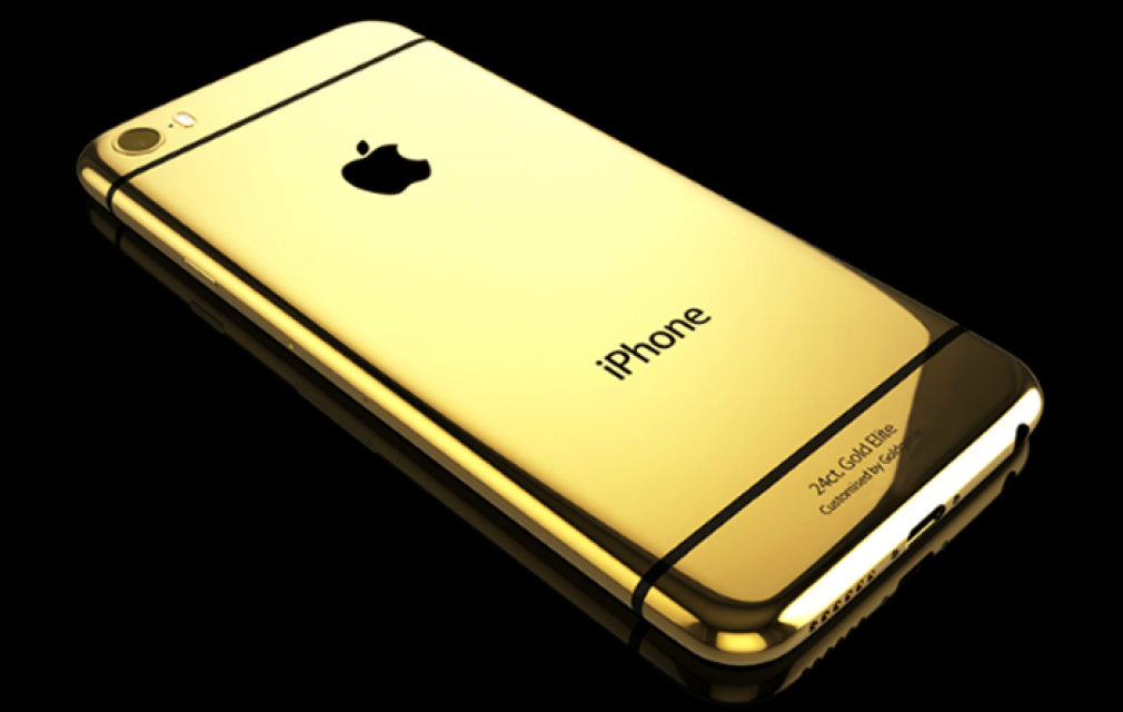 Image Iphone  Gold